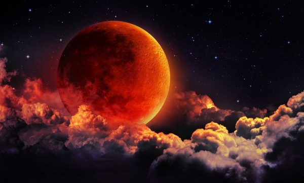 Лунное затмение 21 января 2019