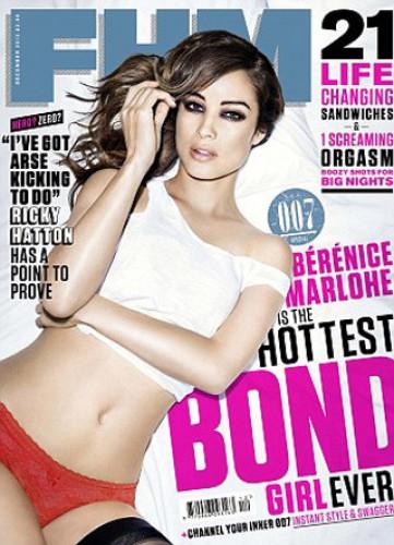 Новая женщина Бонда снялась для мужского издания (фото)