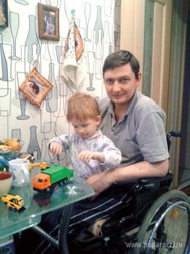 Племянник Аллы Пугачевой Женя со своим сыном