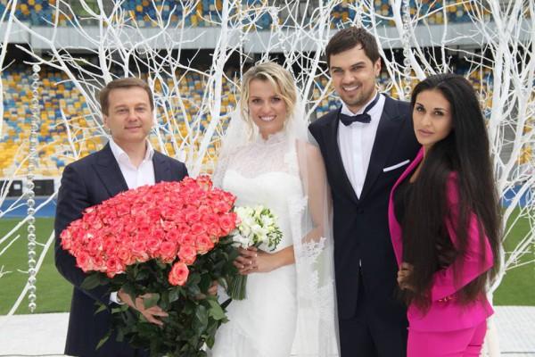 Свадебные фотографии Константина Евтушенко и Натальи Добрынской