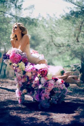 Ева Бушмина снялась в романтичной фотосессии