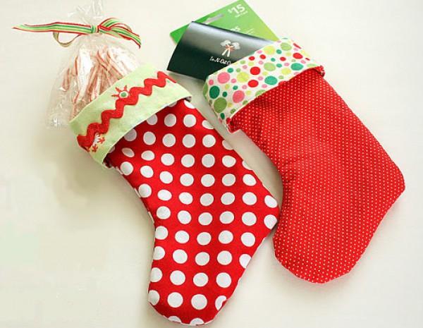 Как сделать своими руками носки для подарков