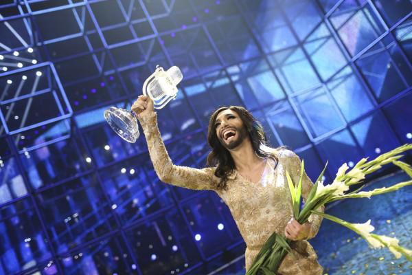 Кончита Вурст победила в конкурсе Евровидение 2014