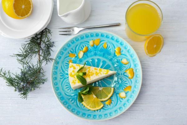 Лимонный чизкейк без сливочного сыра