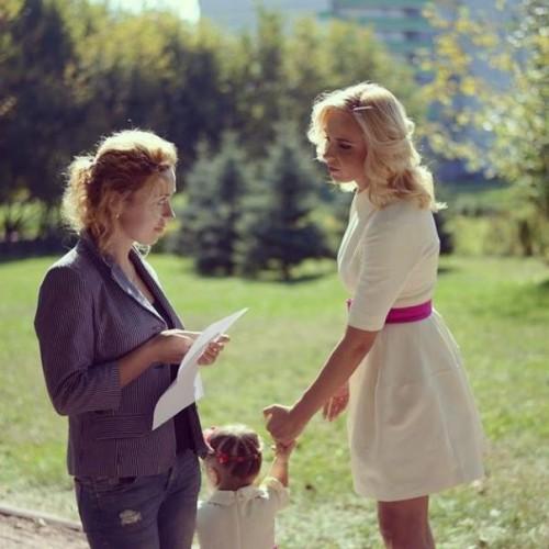 Надежда Пасичнюк на интервью с ведущей Лилией Ребрик