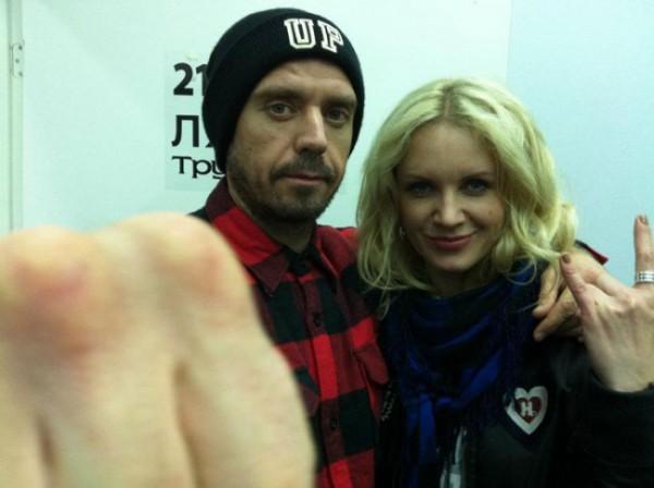 Сергей Михалок с женой Светланой Зеленковской