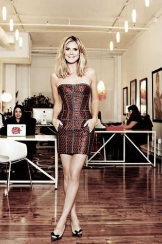 Хайди Клум снялась в фотосессии для свежего номера Forbes Life