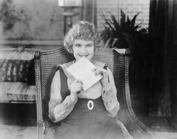 Раньше любовные письма были частью жизни влюбленных