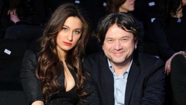 Остап Ступка с женой Дарьей