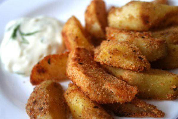 Картофельные дольки в духовке рецепт