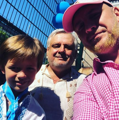 Потап с сыном и отцом