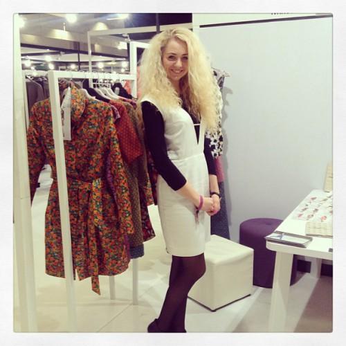 Свою новую коллекцию Анастасия Иванова  уже представляла на крупнейшей  модной выставке WHO'S NEXT PARIS.