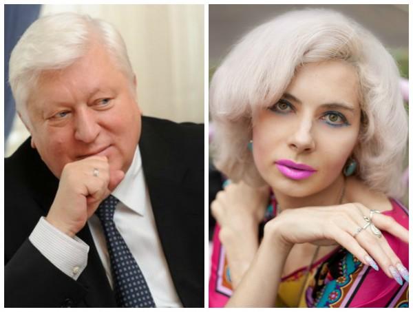 Виктор Пшонка и Мария Лоренцо