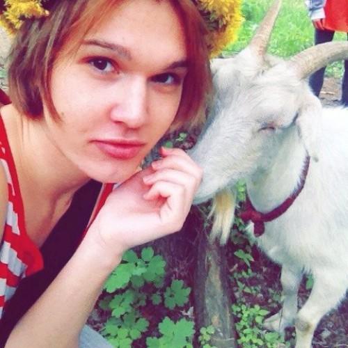 Борис Апрель фотографировался с козой