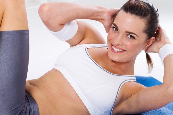 Регулярное выполнение упражнений - залог крепкого пресса