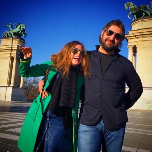 Жанна Бадоева с мужем Васей