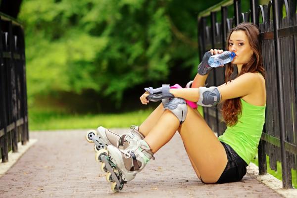 Ролики помогают похудеть