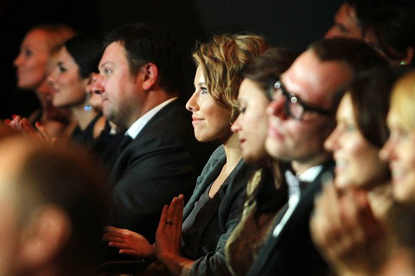 На вручении премии присутствовала и Ксения Собчак