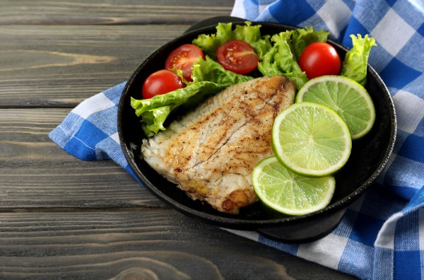 Жареное рыбное филе