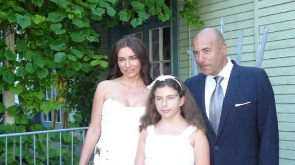 Игорь Крутой со своей семьей