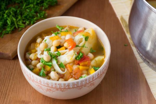 Испанский овощной суп