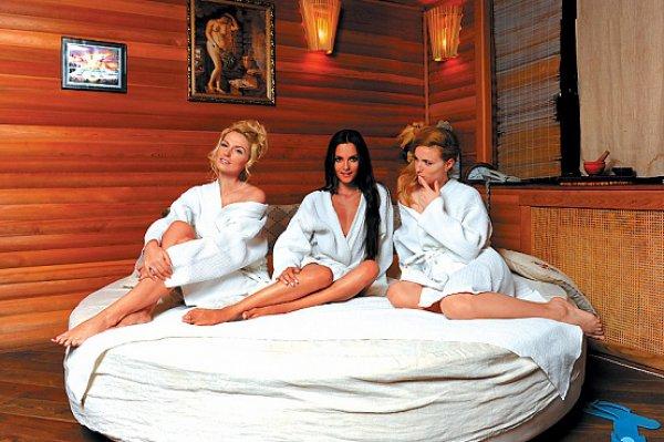 Девушки из группы Фабрика любят отдыхать в СПА-салонах