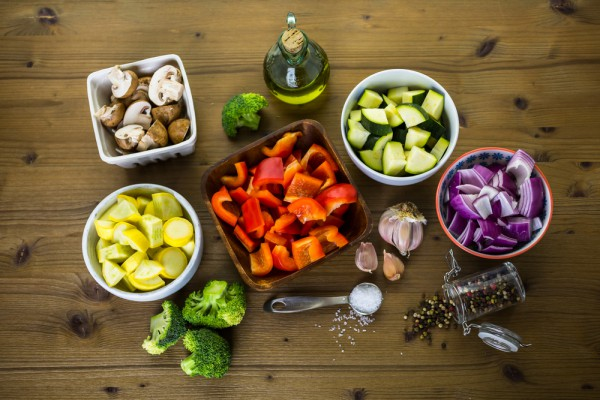 как запечь овощи в духовке рецепт