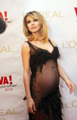 Беременная Лобода на церемонии Viva! в 2011 году