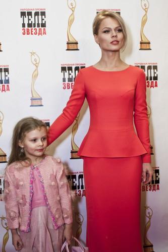 Ольга Фреймут с дочкой Златой