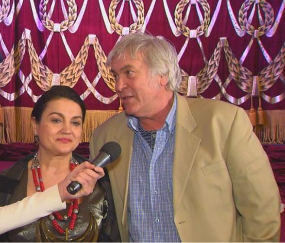 Украинские актеры Наталья Сумская и Анатолий Хостикоев