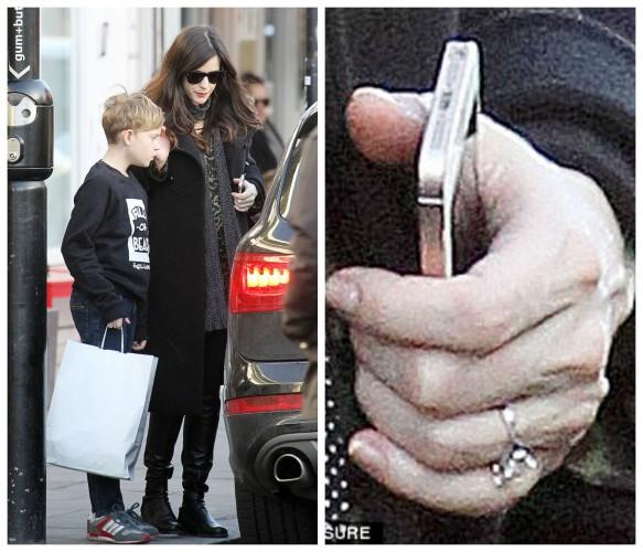 Лив Тайлер не удалось скрыть обручальное кольцо на безымянном пальце