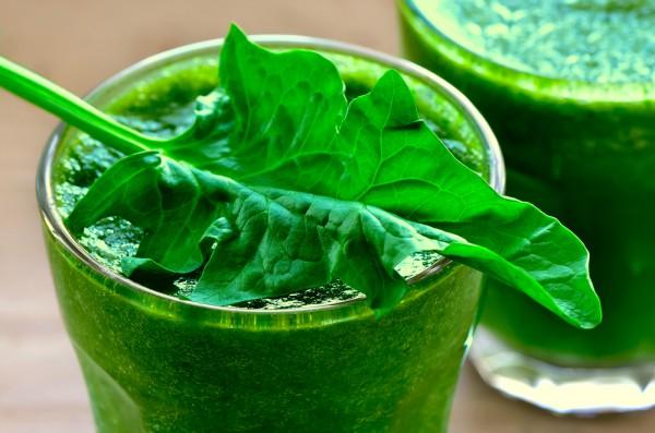 Зеленый витаминный смузи