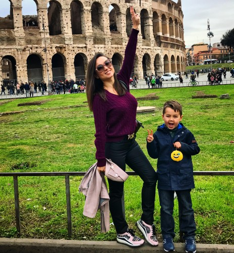 Аня Олицкая с сыном фото