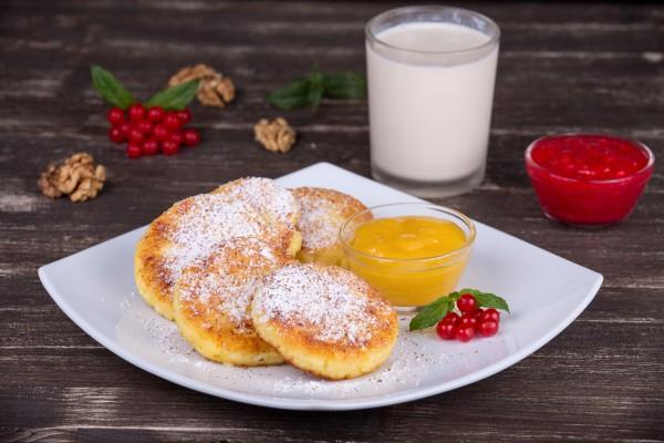 Рецепт                  Немецкие сырники с клюквой