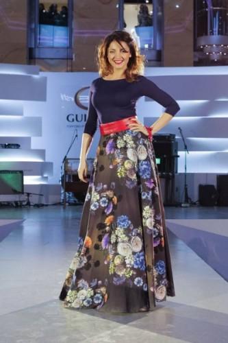 Украинская телеведущая и певица Ольга Цибульская
