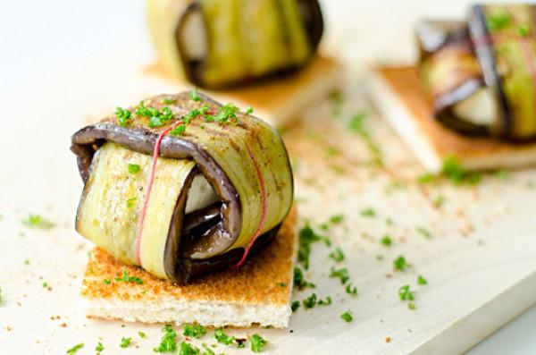 Рецепт                  Закуска из баклажанов с сыром