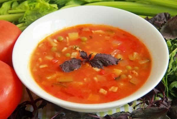 рецепт супа с кукурузой с фото