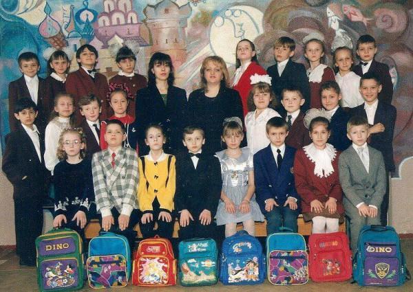 Аня Гресь в школе