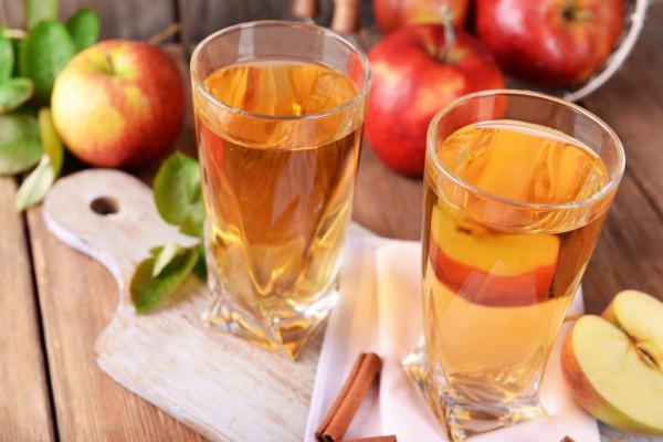 Коктейль на основе яблочного сидра