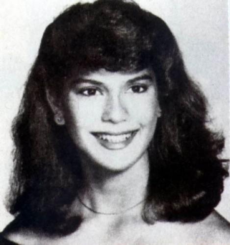Актриса в школьные годы