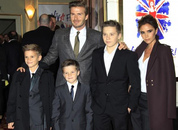 Семья Бекхэмов - самая стильная в мире