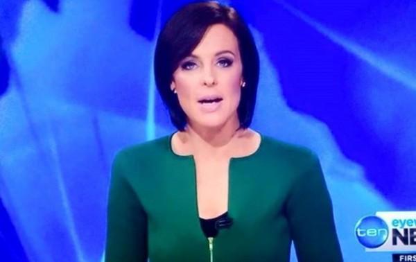 Австралийская телеведущая Натарша Беллинг