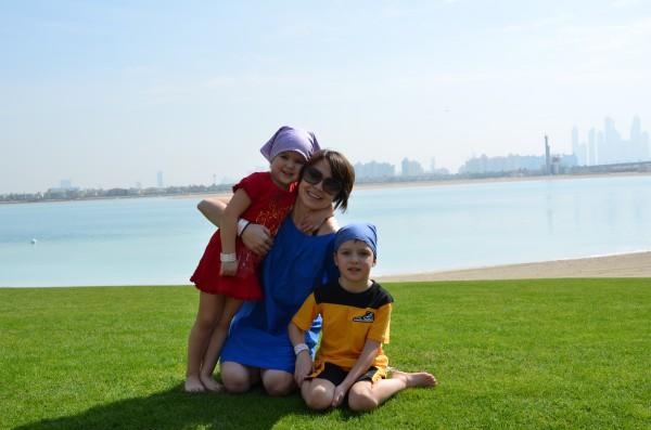 Лилия с Вадимом и Каролиной
