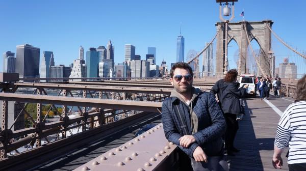 Сергей Калинин в Нью-Йорке
