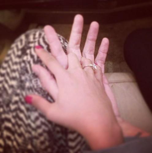 Кольцо на руке Димопулос
