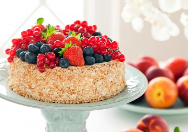 Ореховый торт Наполеон