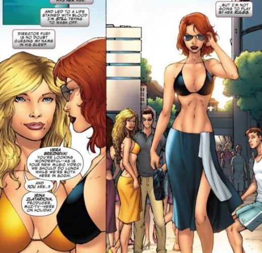 Вера Брежнева в комиксе Marvel
