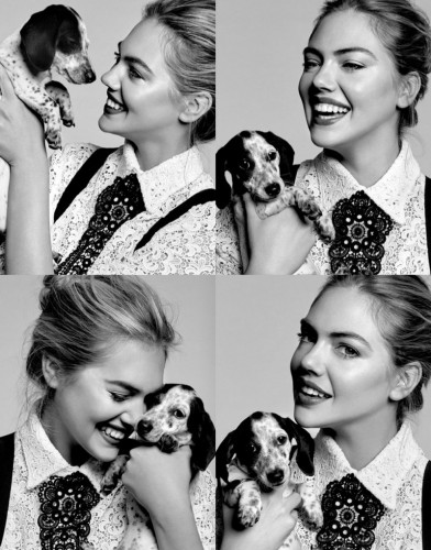 Кейт Аптон в фотосессии журнала Harper's Bazaar