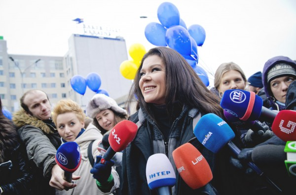 Руслана рассказала о наградах и поездках в зону АТО