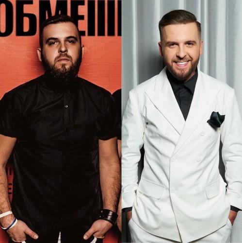 Сергей Танчинец из БеZ обмежень до и после похудения